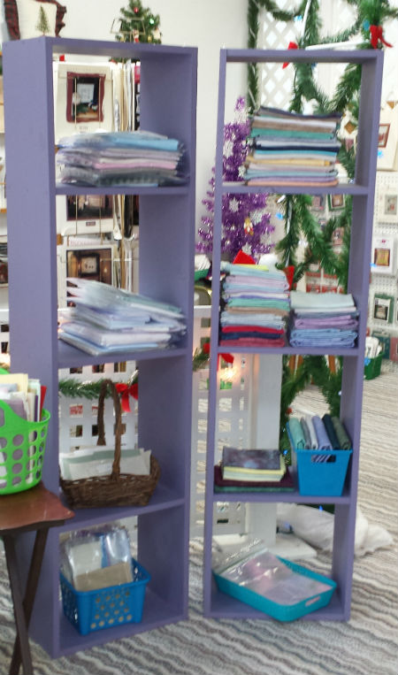 Stitchers Haven carries a full line of cross stitch, needlepoint